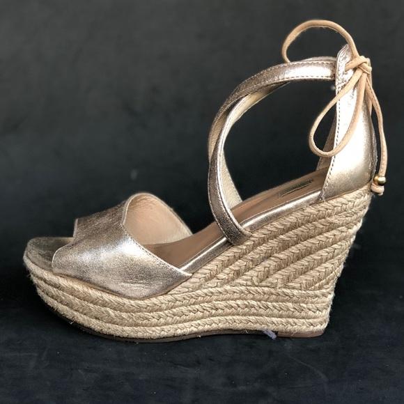 923760b51aa UGG® Reagan Metallic wedge sandal